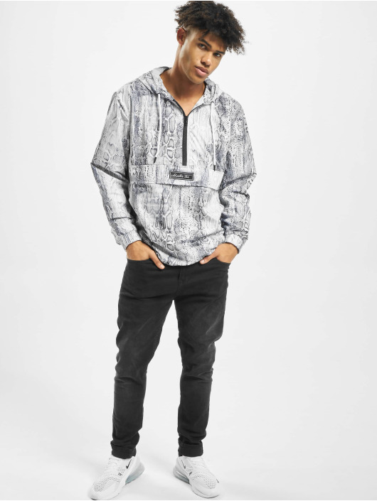 Mister Tee Lightweight Jacket Snake gray
