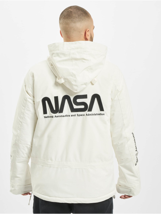 Mister Tee Lightweight Jacket Nasa white