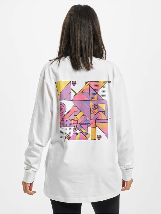 Mister Tee Longsleeves Ladies Abstract Colour bialy