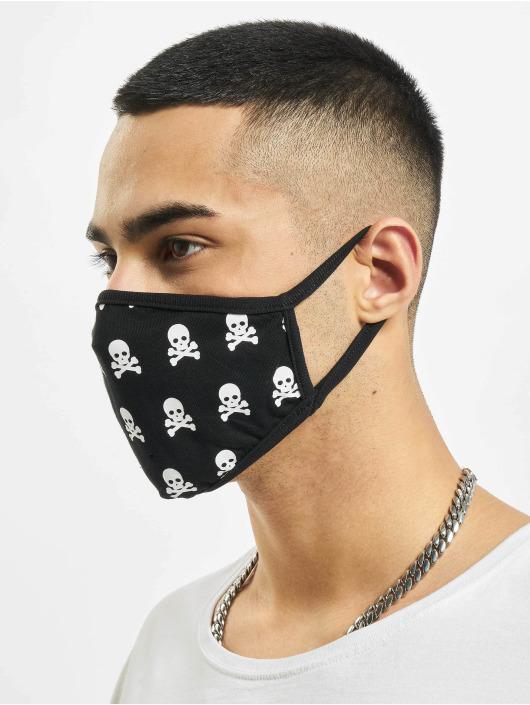 Mister Tee More Skull Face Mask black