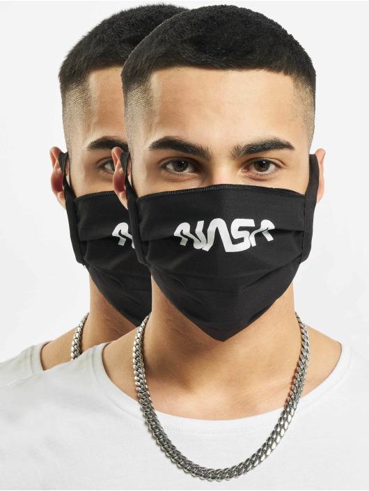 Mister Tee More Nasa Face Mask black
