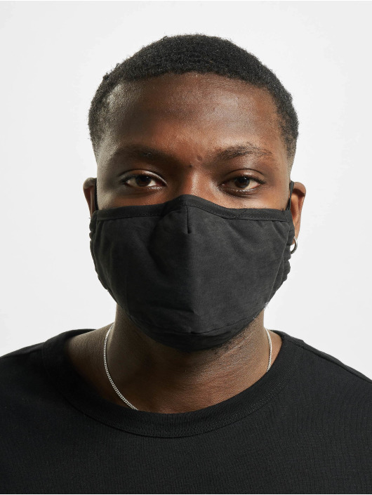Mister Tee More Face Mask Off 2-Pack black
