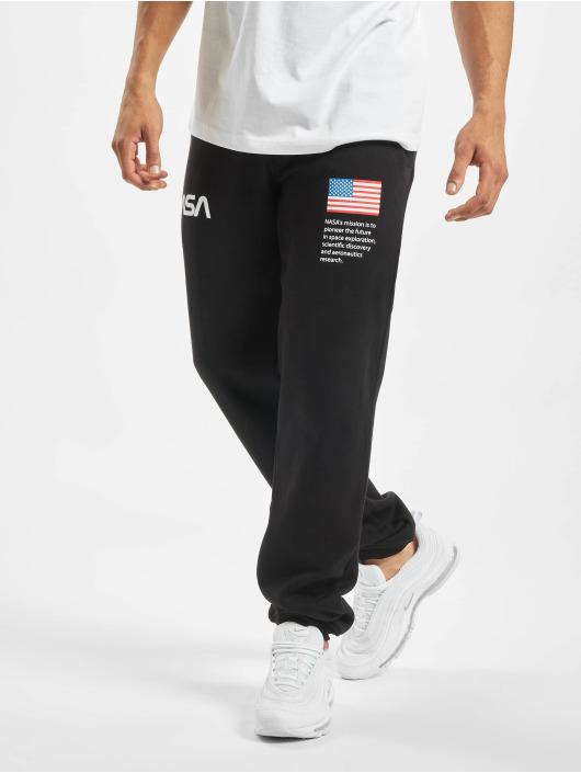 Mister Tee Pantalón deportivo NASA Heavy negro