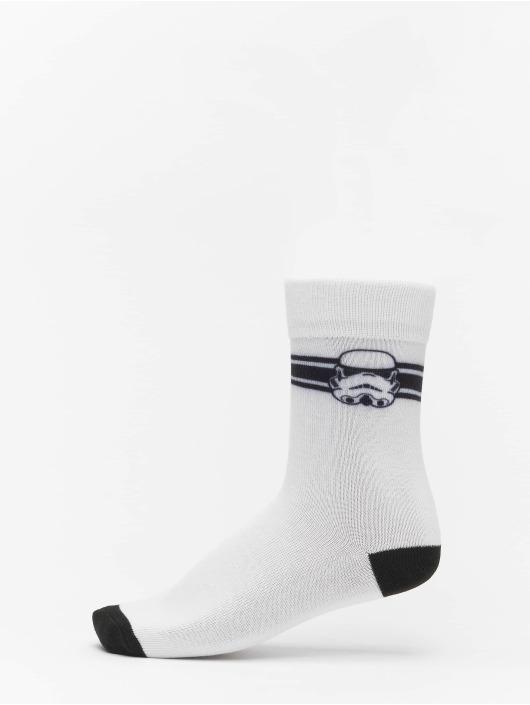 Mister Tee Ponožky Stormtrooper Head 2-Pack èierna