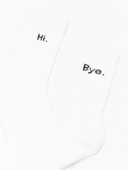 Mister Tee Ponožky Hi - Bye 2-Pack Short èierna