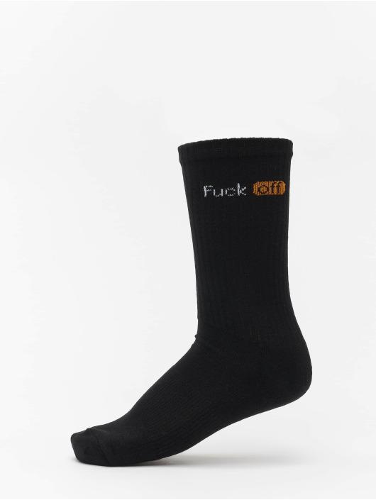 Mister Tee Ponožky Fuck Off 3-Pack èierna