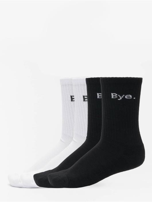 Mister Tee Ponožky Hi - Bye 4-Pack èierna