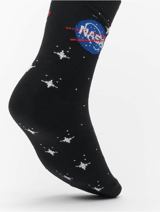 Mister Tee Ponožky Nasa Insignia Socks 3-Pack čern