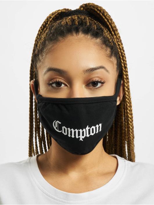 Mister Tee Pozostałe Compton Face Mask czarny