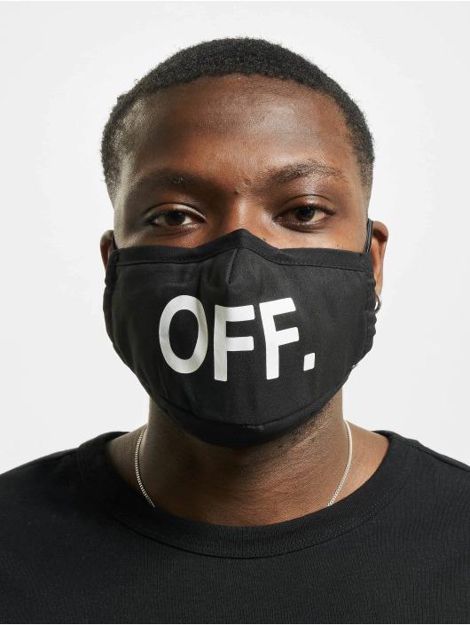 Mister Tee Pozostałe Face Mask Off 2-Pack czarny