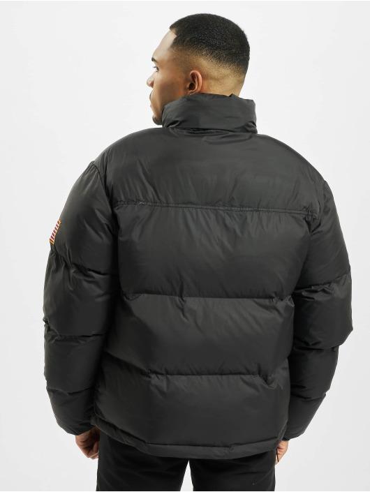 Mister Tee Puffer Jacket Nasa Two-Toned schwarz