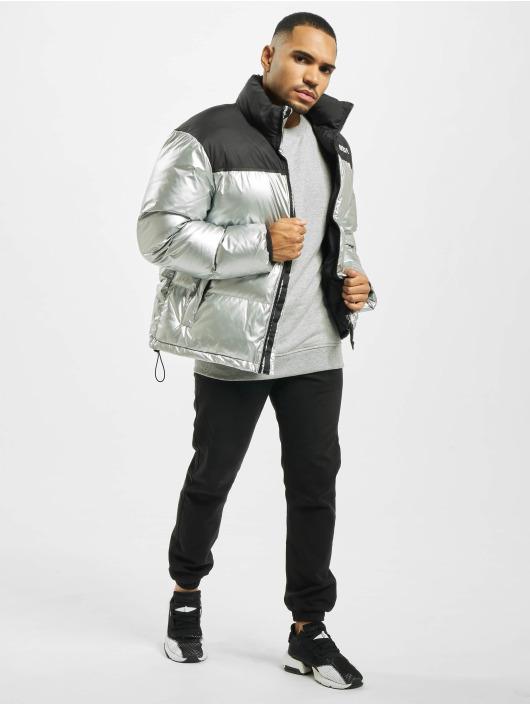 Mister Tee Puffer Jacket Nasa Two-Toned silberfarben