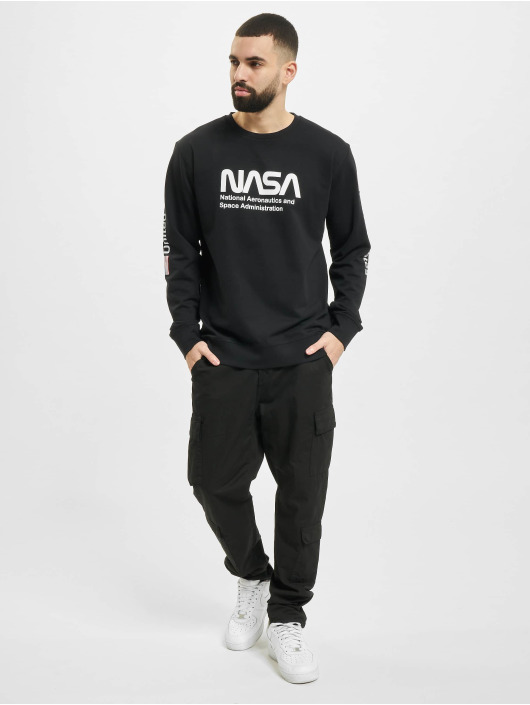 Mister Tee Pullover NASA US black