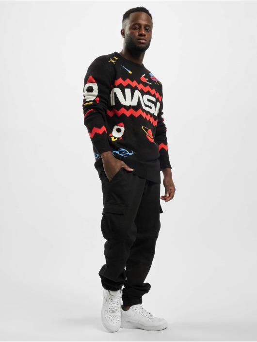 Mister Tee Pullover Nasa Xmas black