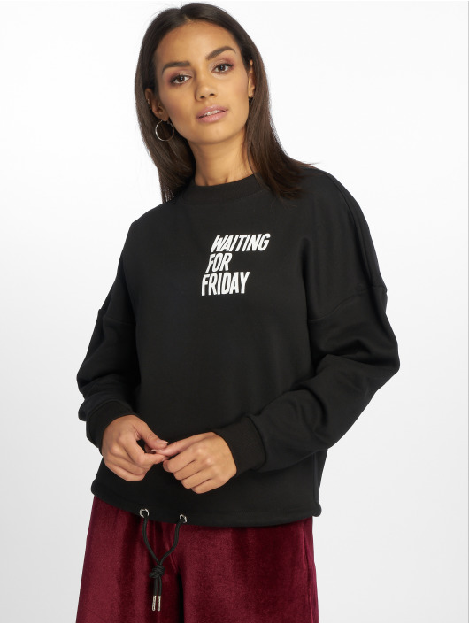 Mister Tee Pullover Waiting For Friday black