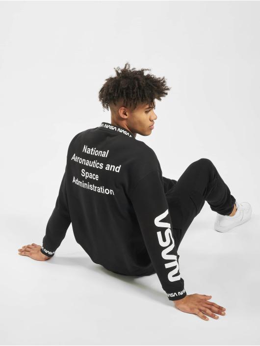 Mister Tee Pullover NASA Oversize black