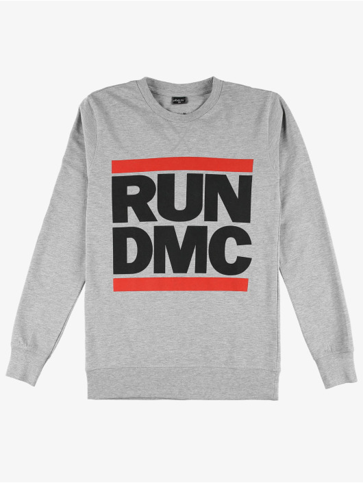 Mister Tee Pullover Run DMC Logo grau