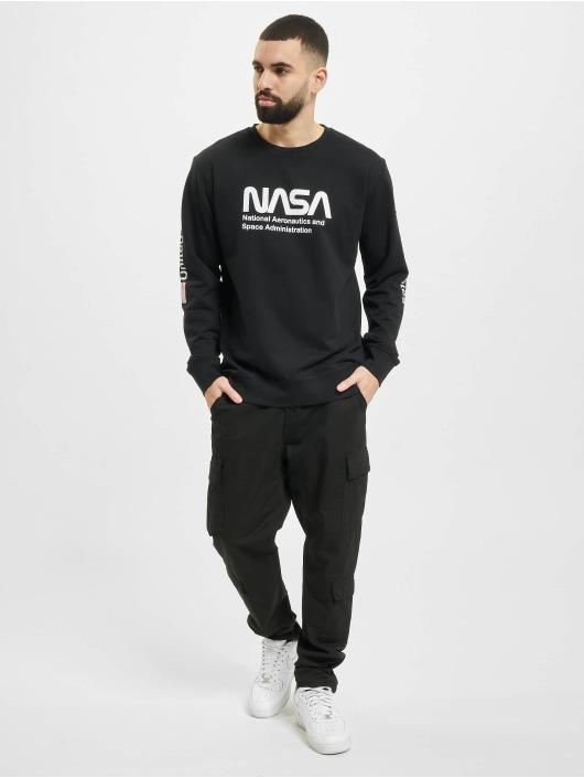 Mister Tee Pullover NASA US schwarz