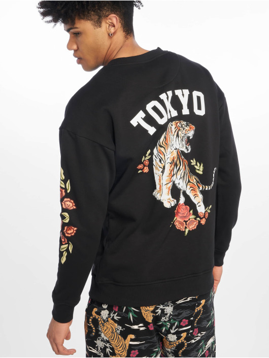 Mister Tee Pullover Tiger schwarz