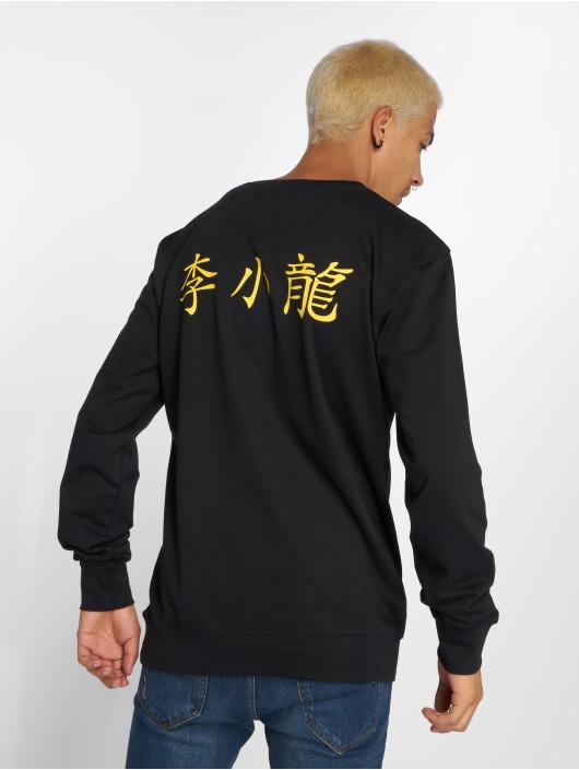 Mister Tee Pulóvre Bruce Lee Logo èierna