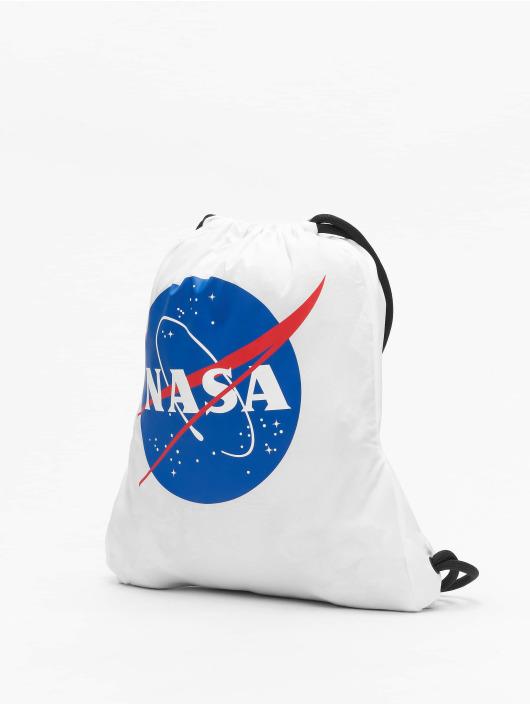 Mister Tee Sac à cordons NASA blanc