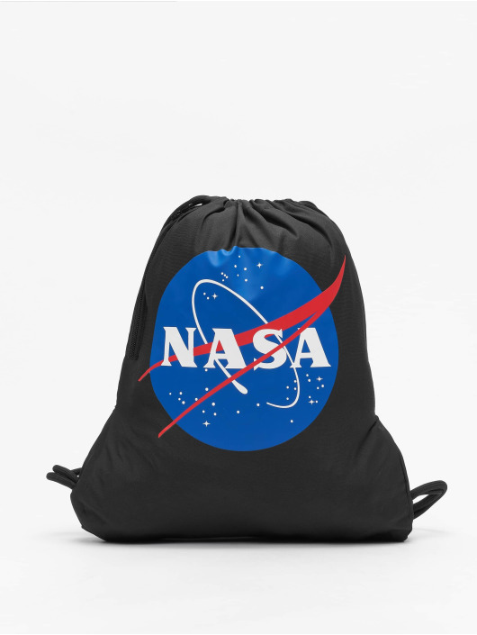 Mister Tee Sac à cordons NASA noir