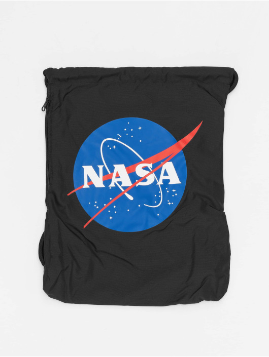 Mister Tee Shopper NASA zwart