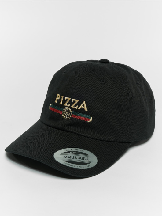 Mister Tee Snapback Cap Pizza Dad black