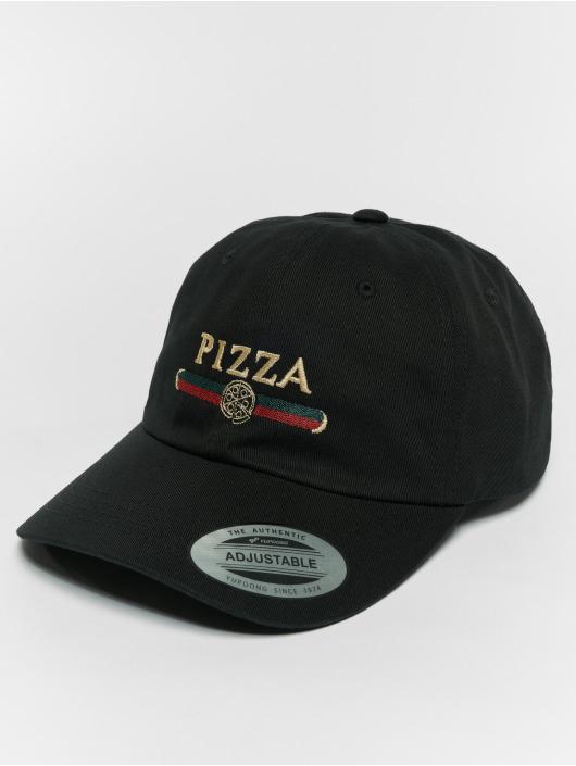 Mister Tee Snapback Cap Pizza Dad schwarz