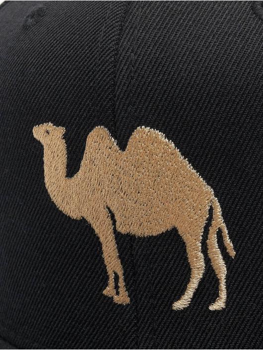Mister Tee Snapback Cap Desert Camel schwarz