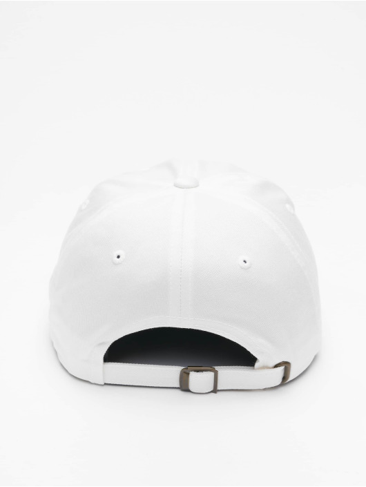 Mister Tee Snapback Cap Stay Home Emb white