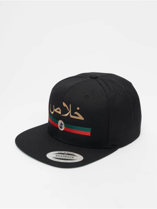Mister Tee snapback cap Khalas zwart