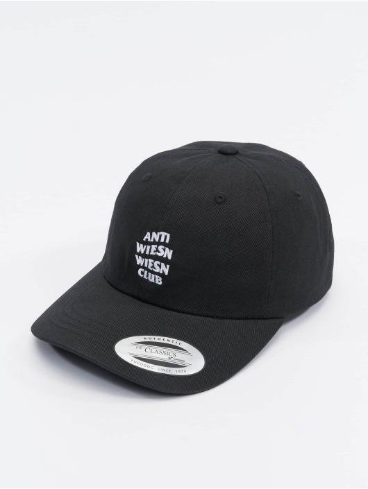 Mister Tee Snapback Caps Wiesn Club čern