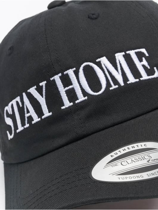 Mister Tee Snapback Caps Stay Home Emb sort