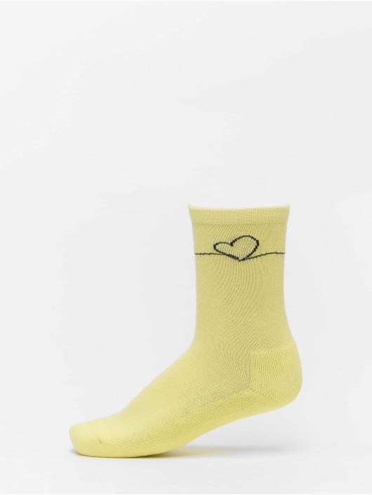 Mister Tee Socken Heart Oneline 3 Pack bunt