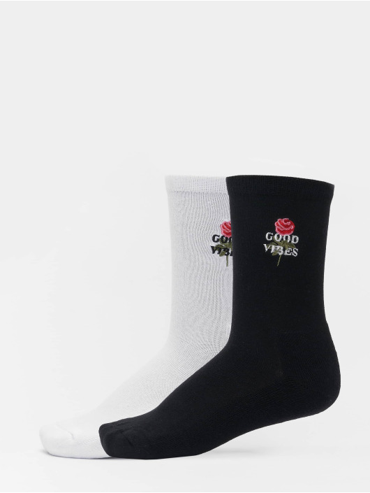 Mister Tee Socken Good Vibes 2-Pack schwarz