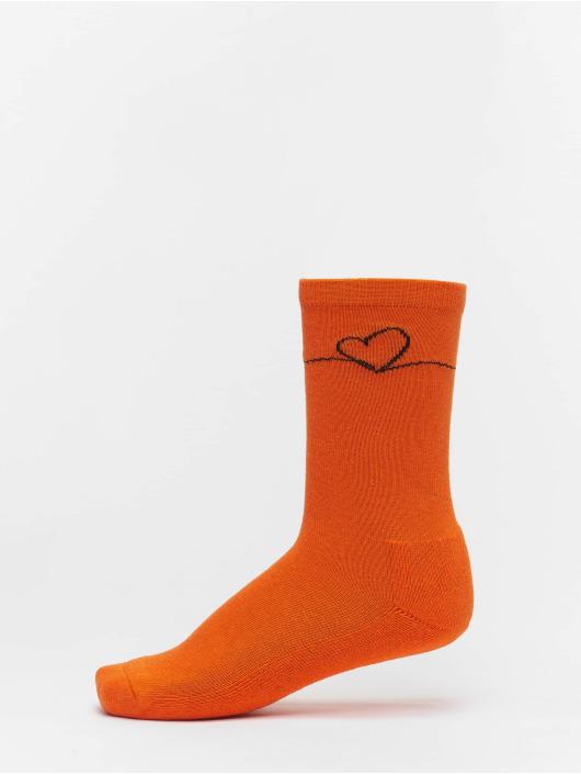 Mister Tee Socken Heart Oneline 3 Pack schwarz