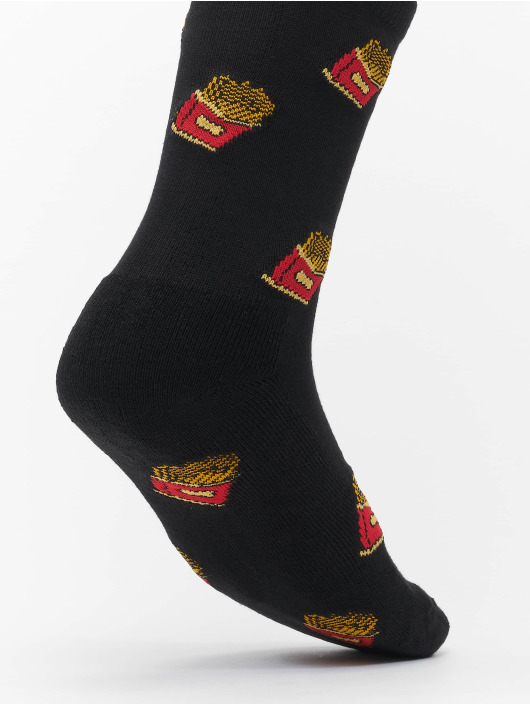 Mister Tee Socks French Fries black