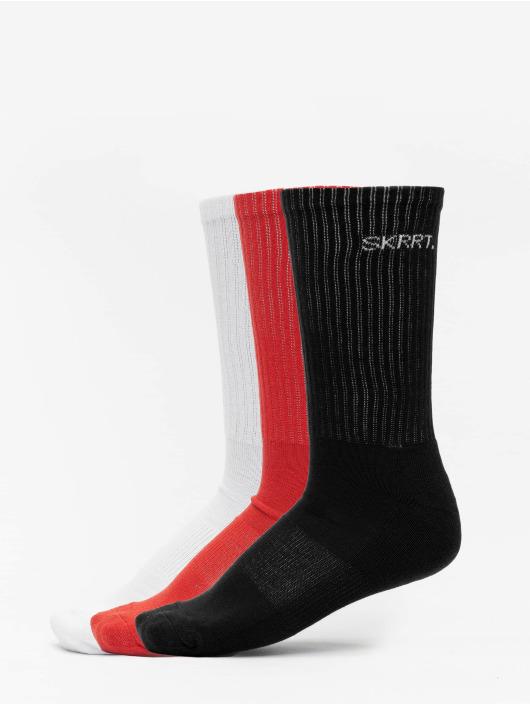 Mister Tee Socks Skrrt. 3-Pack red