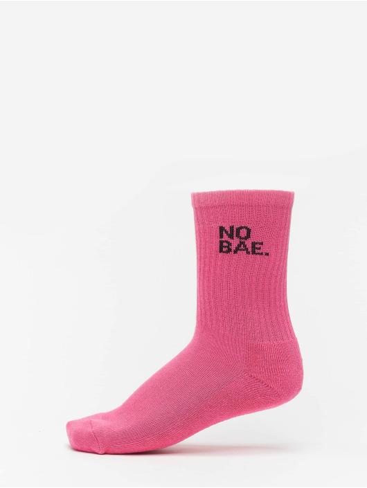 Mister Tee Strømper Girl Gang Socks 3-Pack pink