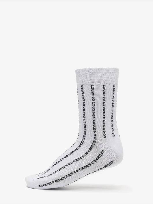 Mister Tee Strømper Fuck You Socks 3-Pack sort
