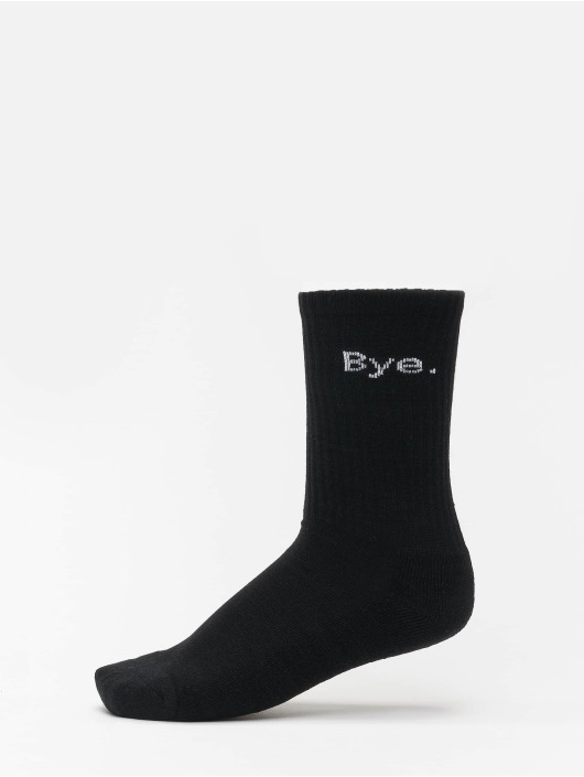 Mister Tee Strømper Hi - Bye 4-Pack sort