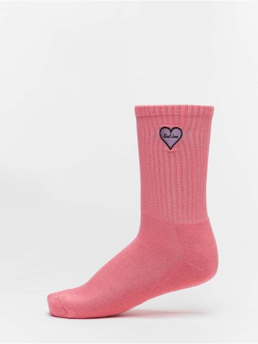 Mister Tee Strumpor Heart Embroidery 3 Pack färgad