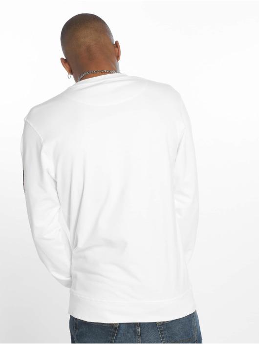 Mister Tee Sweat & Pull Aquarell Watch blanc