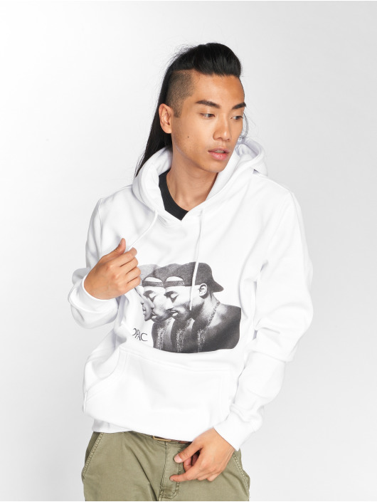 Tee Blanc Homme Mister Sweat Capuche 527309 2pac IY7y6vmfgb