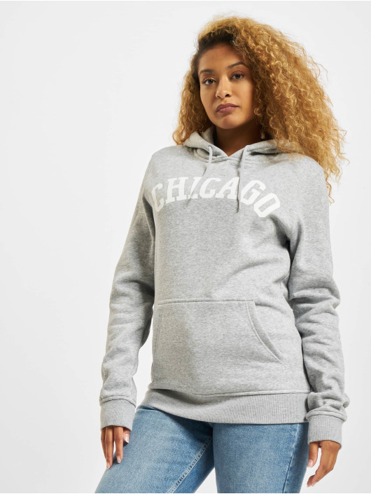 Mister Tee Sweat capuche Chicago gris
