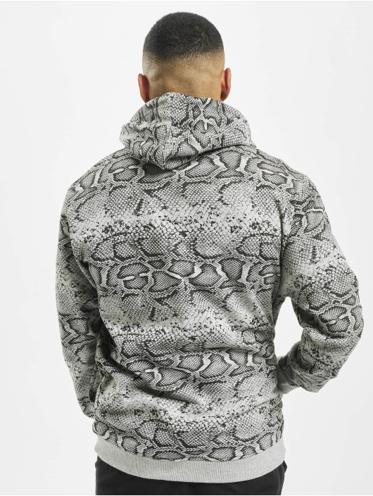 Mister Tee Sweat capuche Snake gris