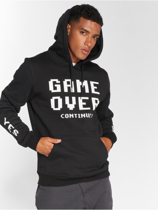 Mister Tee Sweat capuche Game Over noir