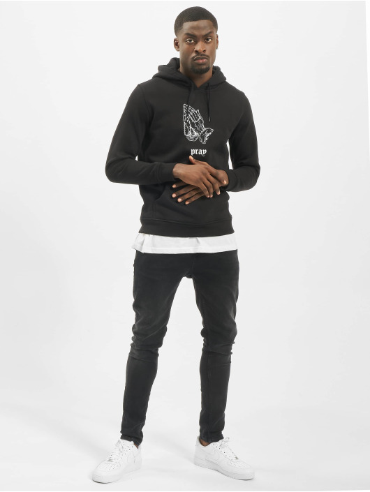 Mister Tee Sweat capuche Dark Pray noir
