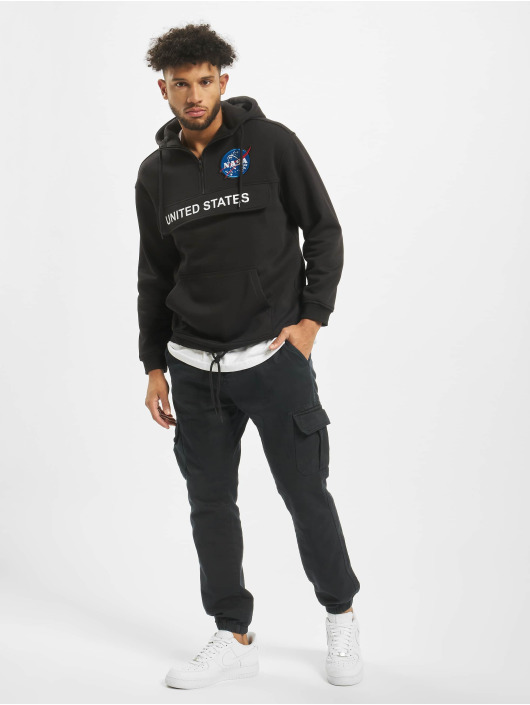 Mister Tee Sweat capuche Nasa Definition noir